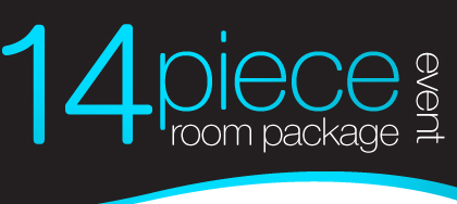 14 piece room package event